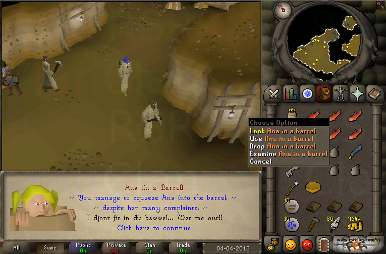 The tourist trap guide osrs bot