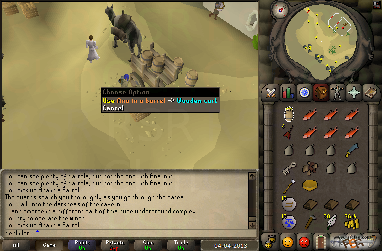 how to get to dorgeshuun mines osrs