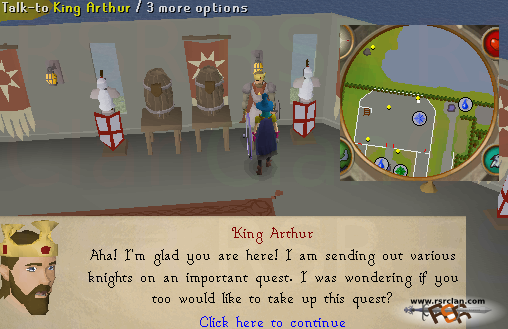 how to get to camelot osrs